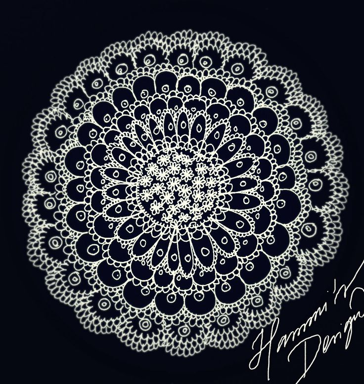 Flower Lace. Drawing design by Hammi´s Design.