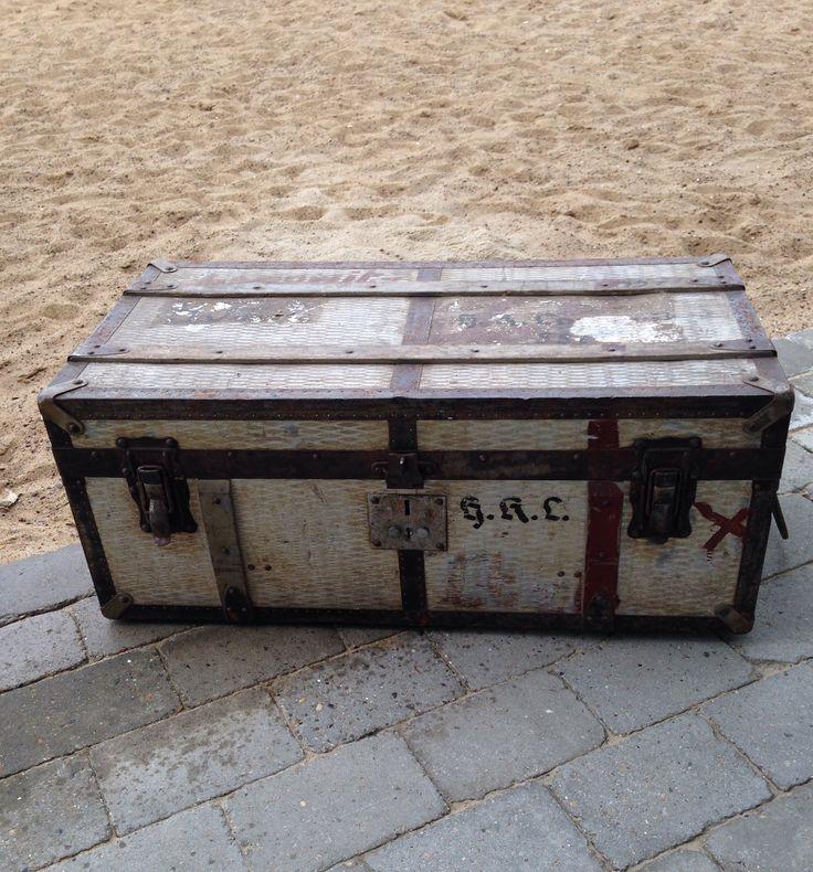 Old german travelcase from around 2. Worldwar