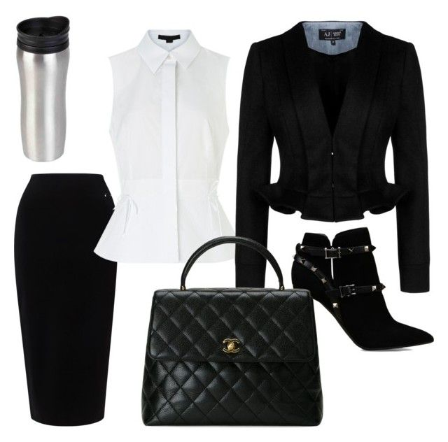 """""""Untitled #18"""" by evelin-pap on Polyvore featuring Valentino, Tome, Alexander Wang, Armani Jeans, Chanel, women's clothing, women, female, woman and misses"""