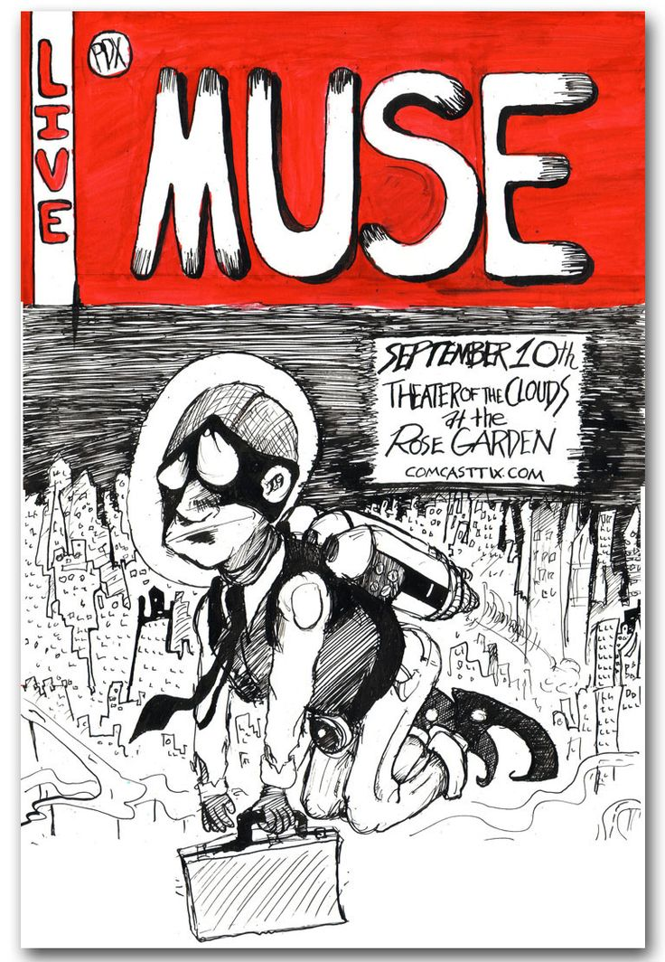 concert posters | Muse posters – 2009 The Resistance Tour and More | Concert Posters