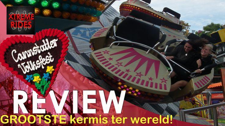 Review: Grootste kermis ter wereld; Canstatter Wasen Stuttgart [DUTCH VE...