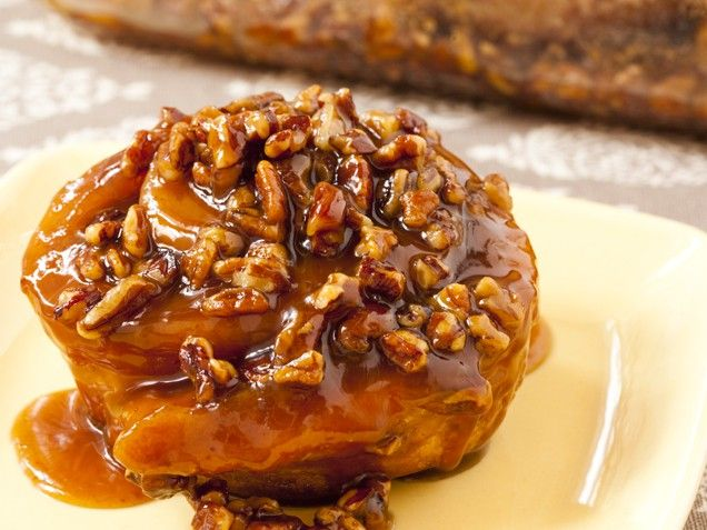 Flour's addictive sticky buns have been famous in Boston for years, but they received national attention in the summer of 2007, when they starred in an episode of the Food Network show Throwdown with Bobby Flay.Note: This recipe actually makes enough brioche dough for two loaves or two pans of the sticky buns. Unfortunately, the bakers at Flour do not suggest simply halving the brioche recipe.