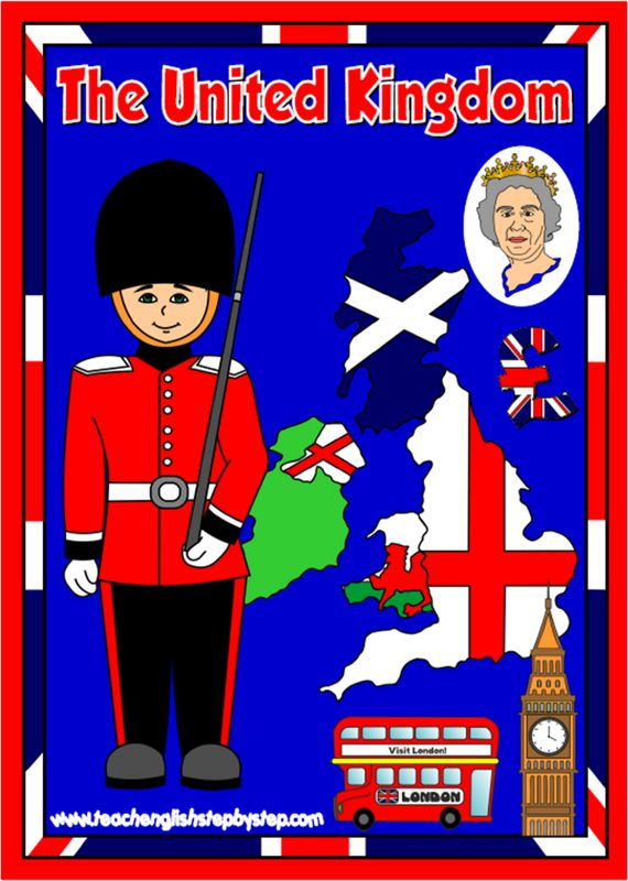 The United Kingdom - ESL teaching resources