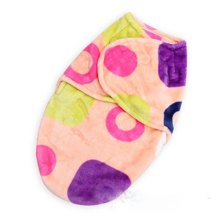 Baby Swaddling Wrap Summer Parisarc Flannel fleece babies Blanket Swaddleme infant envelope Sleep Bag Newborn Blankets&Cobertor