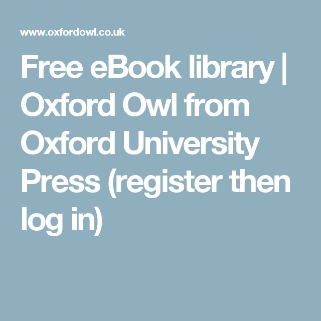 Free eBook library | Oxford Owl from Oxford University Press (register then log in)