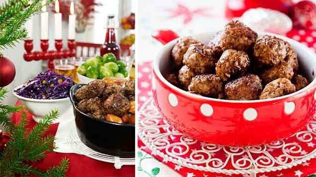 Köttbullar är en stor favorit på mångajulbord! Men hur gör man så att köttbullarna blir smakrika, fasta, saftiga och ja, helt enkelt perfekta? Vi vet! Här har vi samlat åttaenkla tips på hur du lyckas med julköttbullarna!