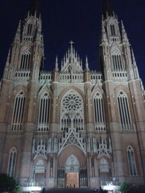 Catedral neogotica. La Plata. Buenos Aires