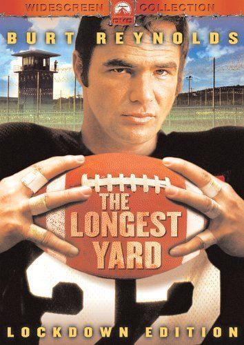 Directed by Robert Aldrich. With Burt Reynolds, Eddie Albert, Ed Lauter, Michael Conrad. A sadistic warden asks a former pro quarterback, now serving time in his prison, to put together a team of inmates to take on (and get pummeled by) the guards.