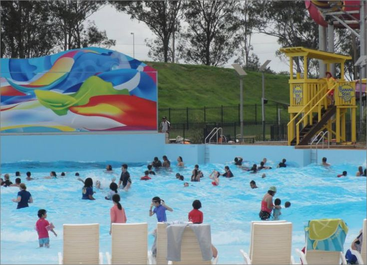 Wet and wild Sydney park swimming wave pools