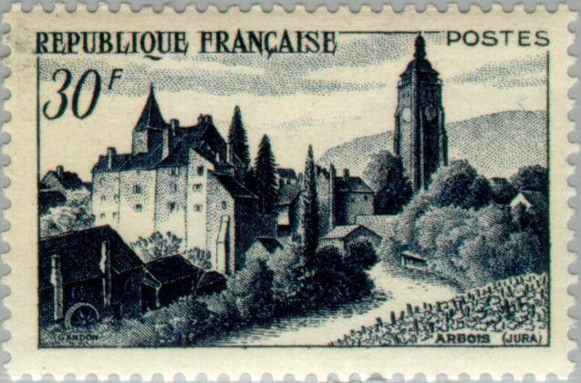 Sello: Arbois (Francia) (Tourism) Yt:FR 905,Mi:FR 923