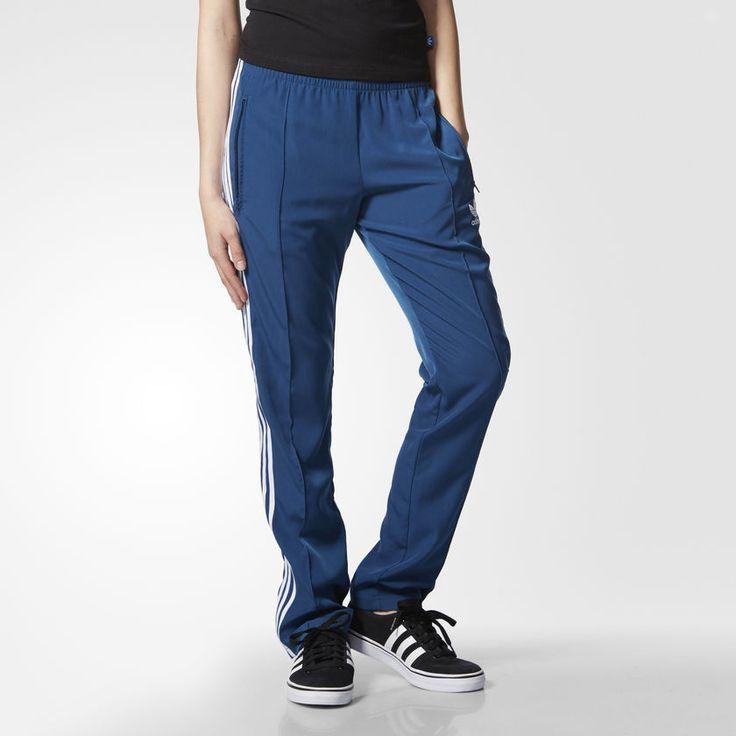 Adidas Blue Women Ladies Youth Teen Girl Firebird Track Jog pant RRP £47.99 #adidas