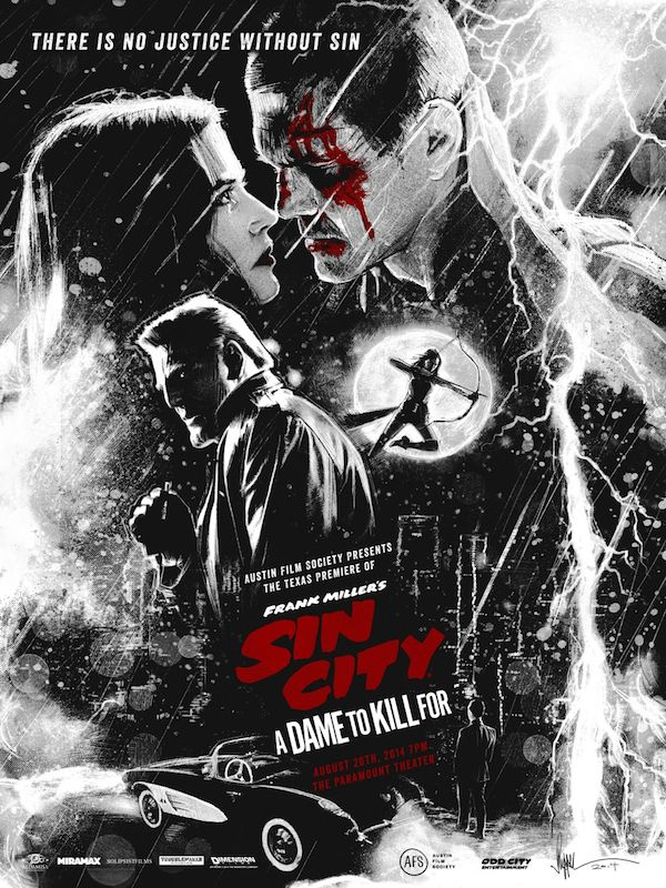 Sin City: A Dame to Kill for. Just a amazing movie just like the first one! So Awesome!