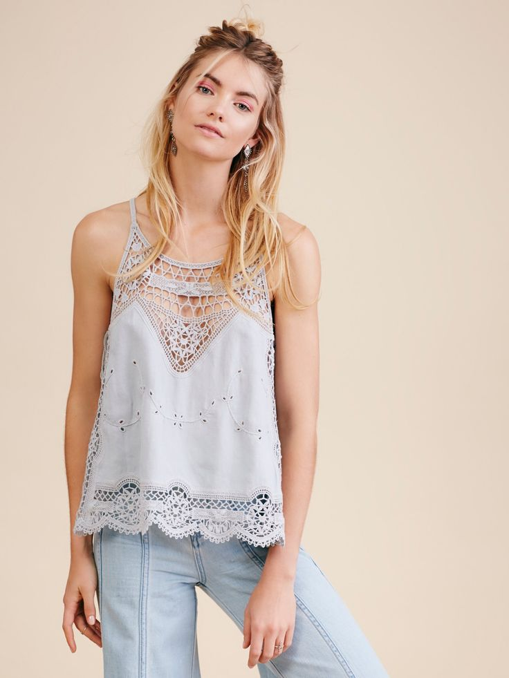 Staying Alive Lace Top at Free People Clothing Boutique