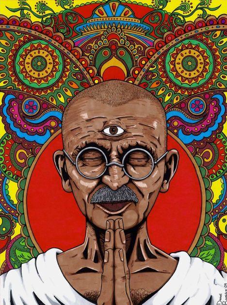 Third Eye Gandhi