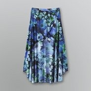 Bongo Junior's Floral High-Low Maxi Skirt