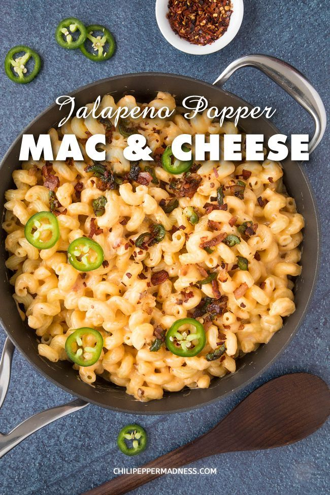 This Jalapeno Popper Mac And Cheese Recipe Is Extra Creamy With