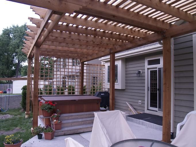 46 best pergola kits images on pinterest. Black Bedroom Furniture Sets. Home Design Ideas