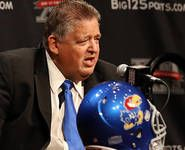 Charlie Weis at the helm of Kansas football. Unfortunately, not a good fit for Kansas football.