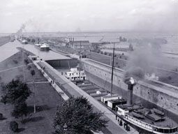 Soo Locks: Sault Ste, Soo Locks, Historical Sault