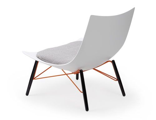 Luc Chair by Lorenz*Kaz for Rossin.