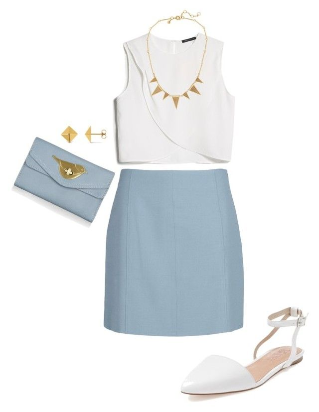 """Blue and White"" by eastaff ❤ liked on Polyvore"