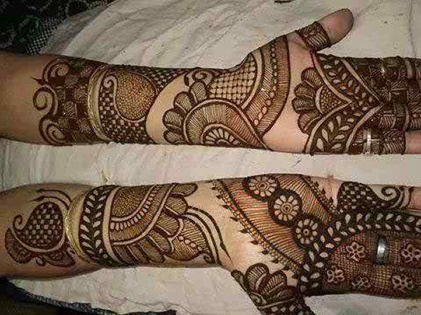 Wonderful Rajasthani Mehndi Patterns 2016