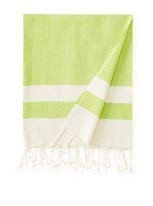 Nomadic Thread Society Boardwalk Hammam Towel (Grass)