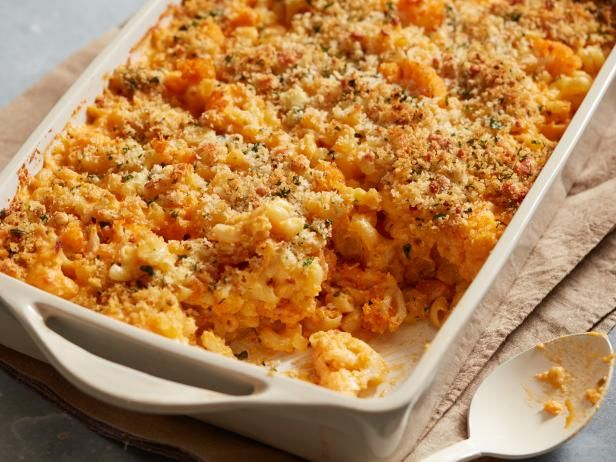 Get Buffalo Cauliflower Baked Mac and Cheese Recipe from Food Network
