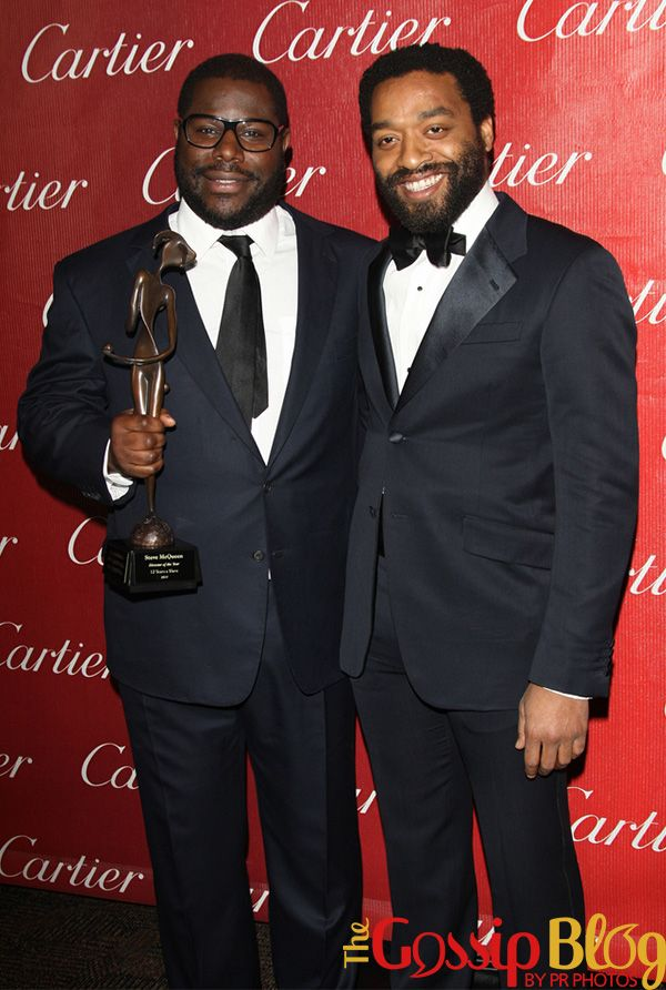 Steve McQueen and Chiwetel Ejiofor.