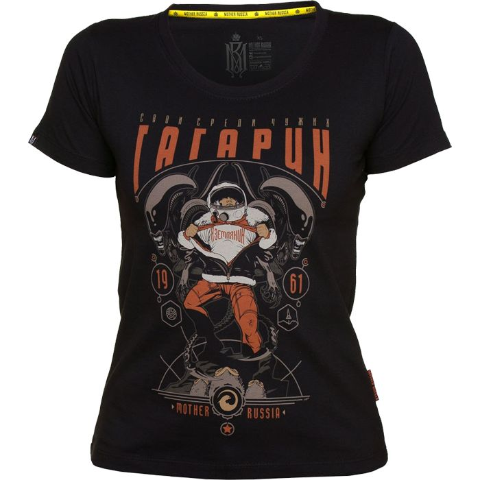 Женская футболка Mother Russia Гагарин mtrshirt0105 купить в интернет-магазине Fightwear