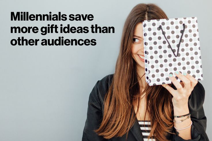 Guide millennial shoppers to the perfect gifts