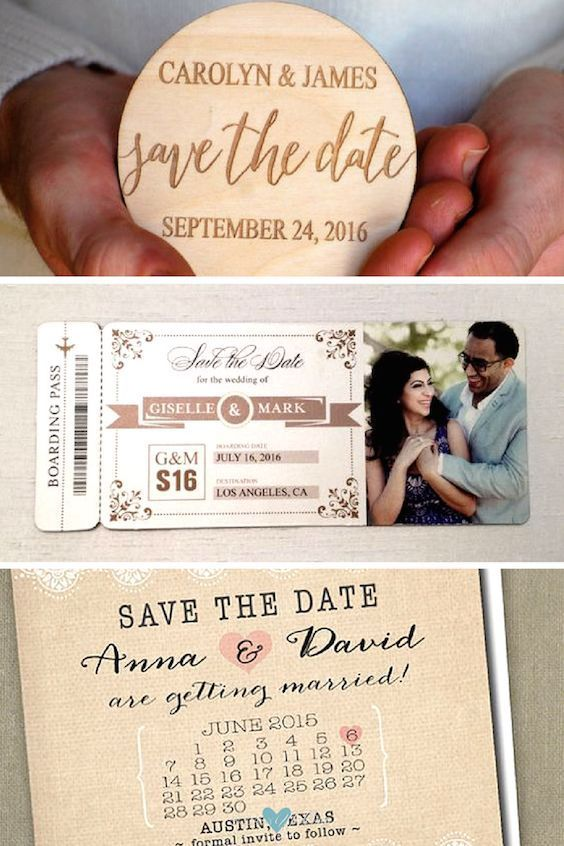 Diy Save The Date Magnets For Traveling S