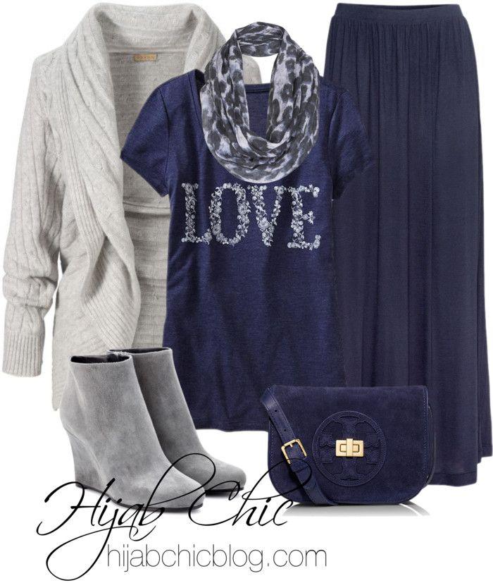Hijab fashion: old navy shirt