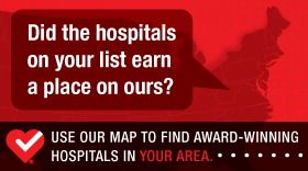 Hospitals Map graphic