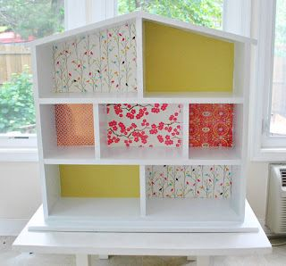 Our Little Baby: Building a Dollhouse From Ikea Bookshelves: The Pinterest Challenge