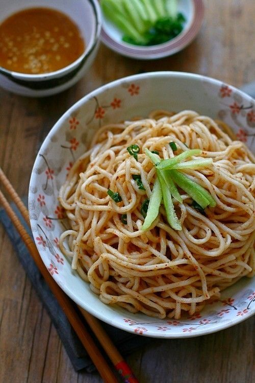 Sesame Noodles - serve alone or with chicken, fried tofu or whatever your mood fancies!