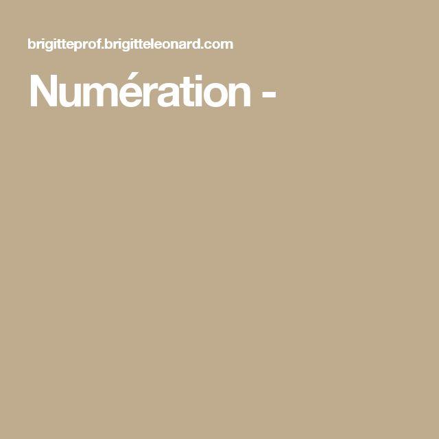 Numération -