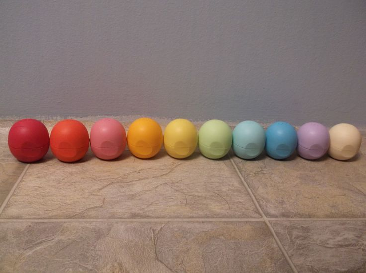 Own every flavor of EOS lip balm. I currently have ten ...