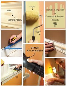 trim painting tips for smooth and perfect results - our best tips for painting trim perfectly