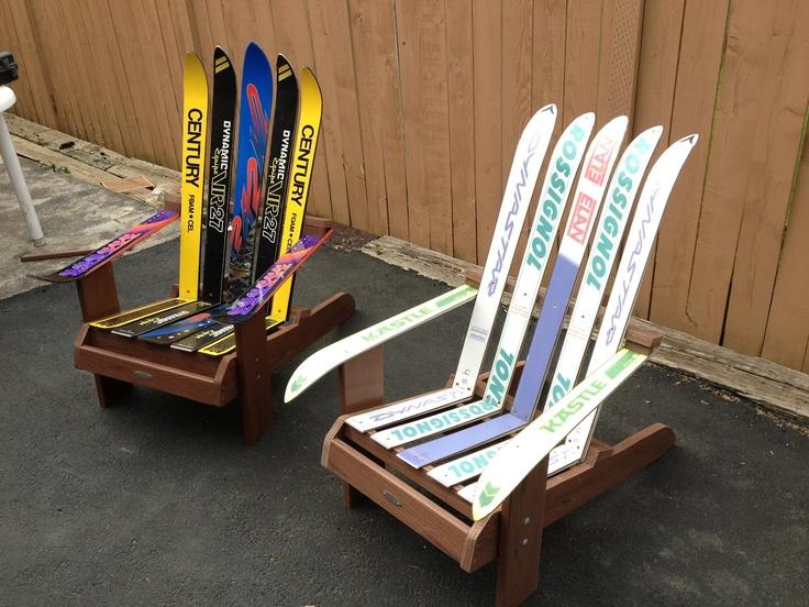Awesome Welcome To Scottyu0027s Custom Made Ski Furniture! Hi, Iu0027m Scotty And I Make Ski  Furniture Like Adirondack Style Chairs And Ottomans (foot Re.