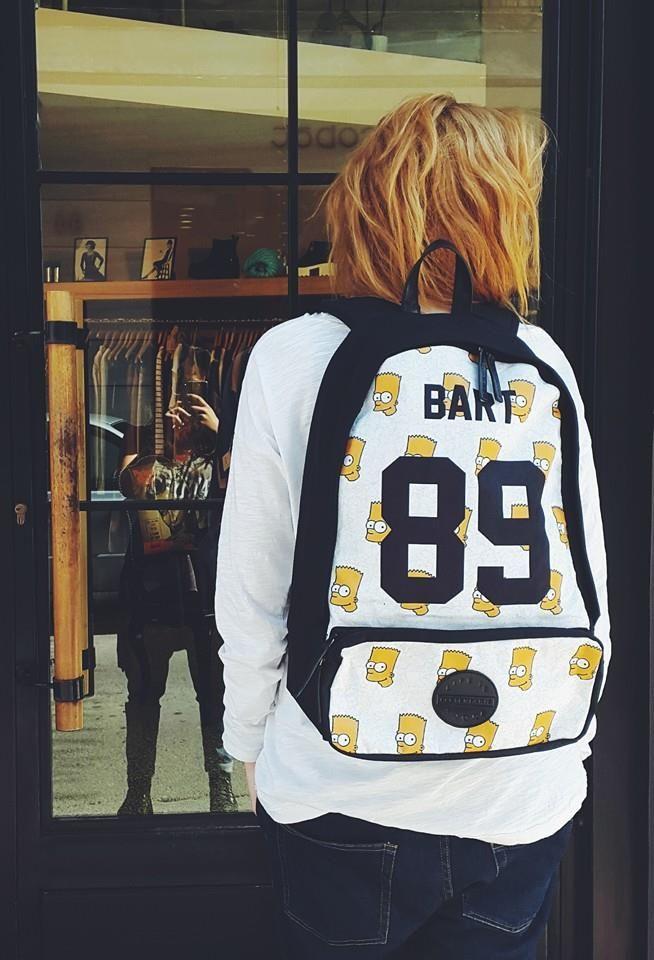 Eleven Paris Backpack | Antonella Boutique #ElevenParis #Backpack #Bags #Simpsons #AntonellaBoutique