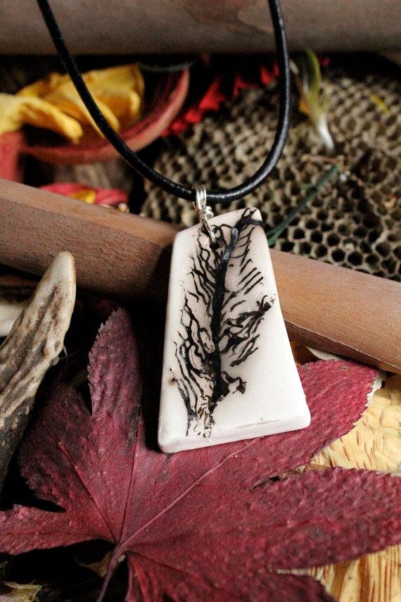 amazing feather necklace!
