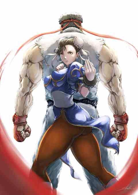 Ryu And Chun Li By Stealthmaria 만화