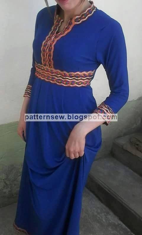 باترون مفصل لفستان بنات - Pattern Sewing