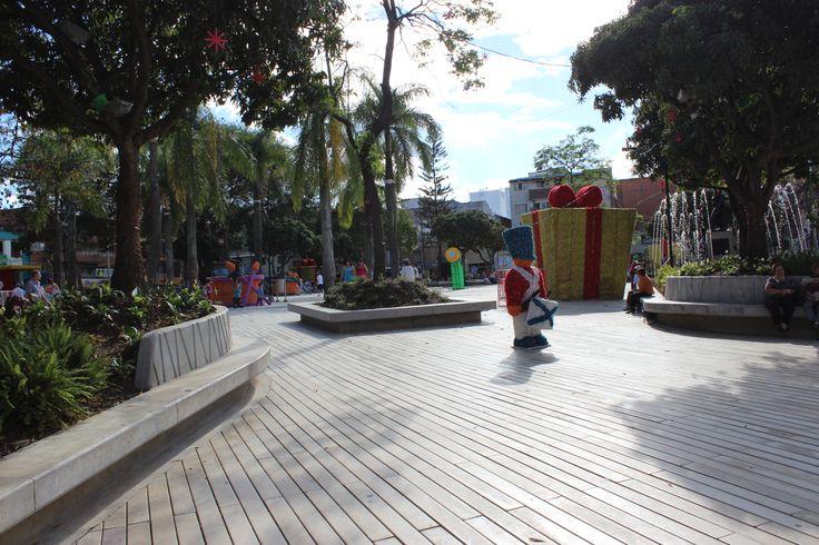 Nuestro parque en esta navidad.