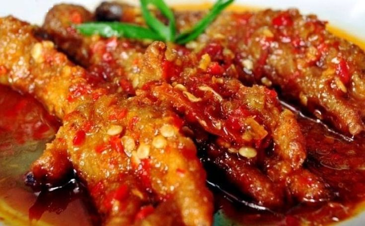 Resep Ceker Mercon Resep Masakan Makanan Pedas Resep