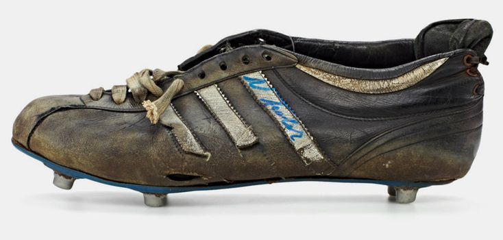 a history of adidas: classic football boots - designboom | architecture & design magazine