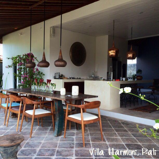 Dinner area, out door living Bali