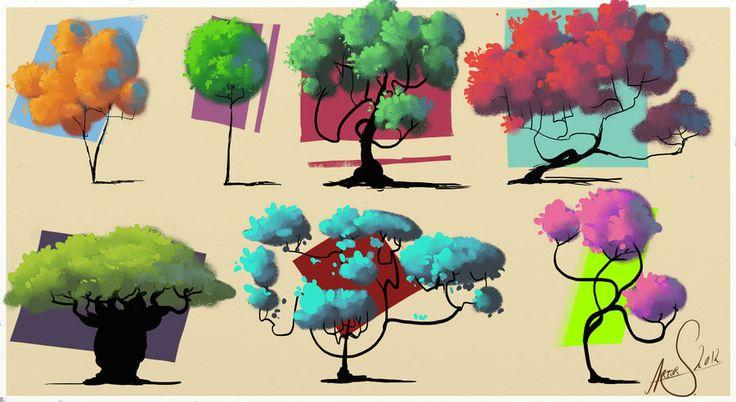 Trees by LandscapeRunner