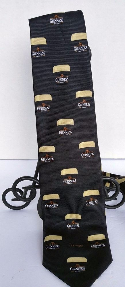 Guinness Draught Beer Official Merchandise Neck Tie Guinness By Night #Guinness #Tie